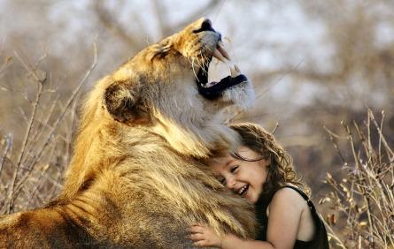 Lion Girl Pic